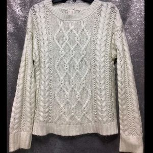 a new day S WHITE PEARL EMBELLISHED SWEAT…